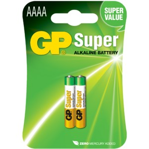 Батарейка GP Super LR8D425 (25A-2UE2) AAAA 2BP
