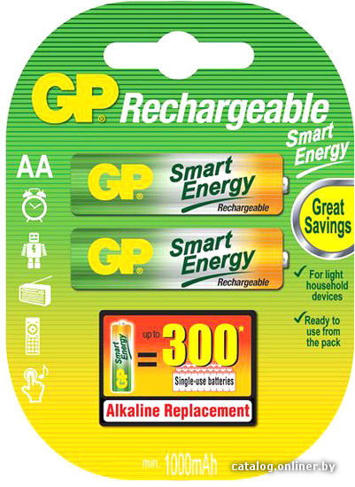 Аккумулятор GP 1000 AAHC-2BP SmartEnergy