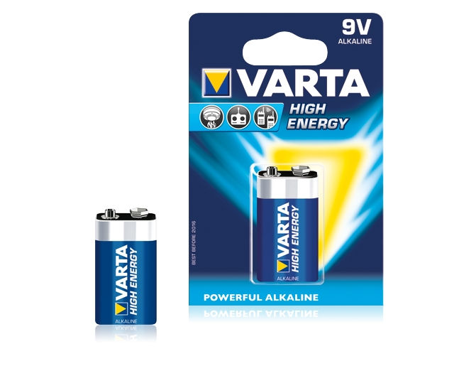 Батарейки VARTA LongLife Power 6LR61/BP Крона