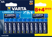 Батарейки VARTA LongLife Power LR6/12BP AA