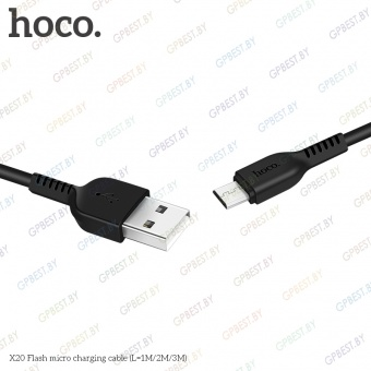 Дата-кабель Hoco X20 Flash MicroUSB (2.0 м)